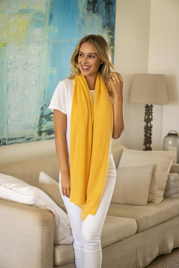 Sunflower Cashmere Topper