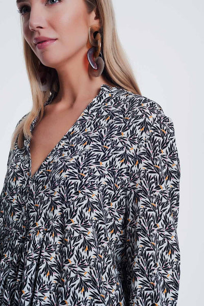 River Printed Top - myboho.com.au