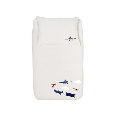 Duvet set - Aviation Custom with child's name