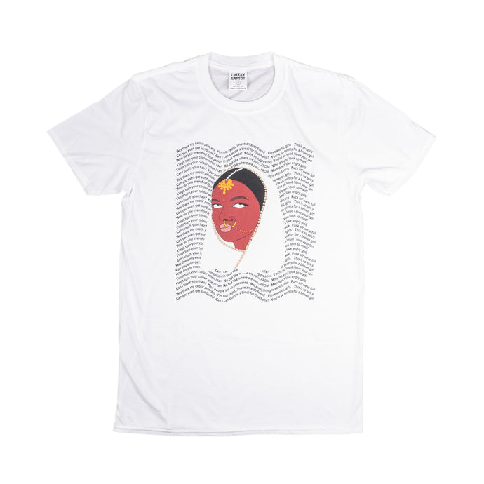 'Mad Ethnic' Cheeky Tee