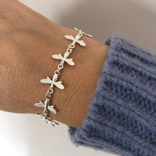 Sterling Silver Busy Bee Bracelet