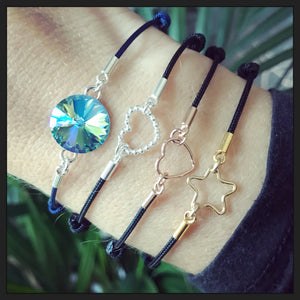 Gold Filled Star Friendship Bracelet