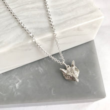 Sterling Silver Looking Foxy Necklace