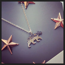 Sterling Silver Bear Explorer Necklace