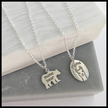 Sterling Silver Mama Llama Necklace