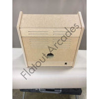 "27"" Screen Arcade Bartop Flatpack Cabinet With Trackball Mounting Hole - Flatout Arcades"