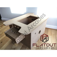 "27"" Arcade Coffee Table Flatpack Kit - Flatout Arcades"