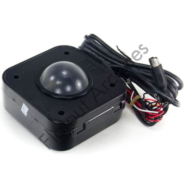 Mini Illuminated 50mm PS/2 Trackball - Flatout Arcades