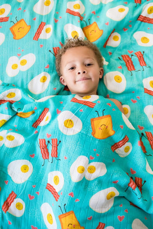 Brunchin - Tula Baby Blanket