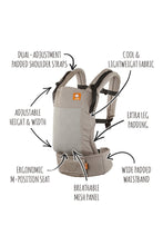 Coast Overcast - Tula Free-to-Grow Baby Carrier