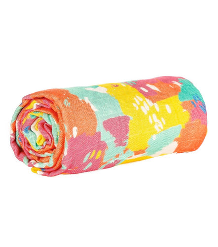 Paint Pallet- Tula Cuddle Me Blanket