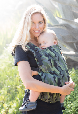Black Lightening -  Ju-Ju-Be Tula Toddler Carrier