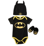 Batman Babygrow Costume Set - DC Marvel World