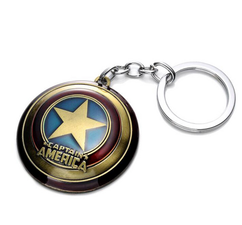 Captain America Shield Keychain - DC Marvel World