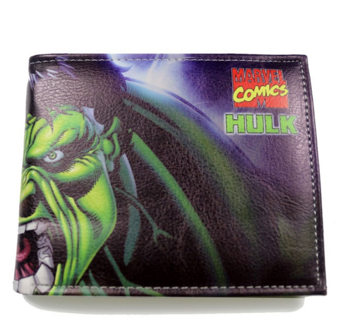Hulk Close Up Bi-Fold Wallet - DC Marvel World