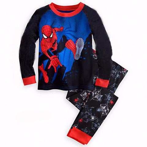 Spiderman 2-Piece Kids Pajama Set - DC Marvel World