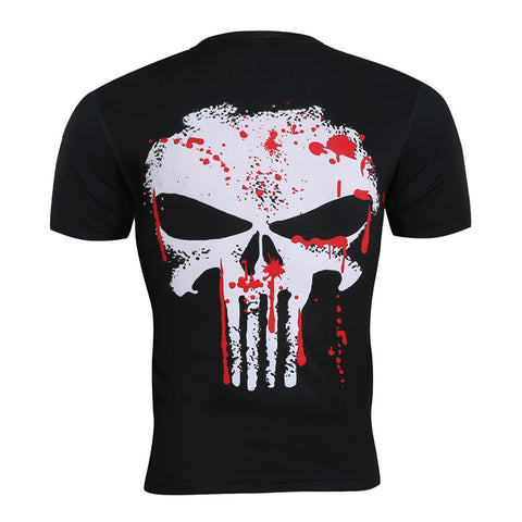 Punisher Movie Skull T-Shirt - DC Marvel World