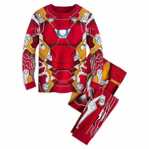 Iron Man Kids 2 Piece Pajama Set - DC Marvel World
