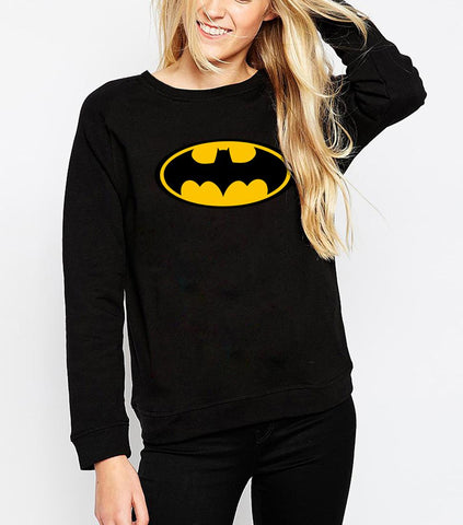 Batman Logo Womens Pullover - DC Marvel World