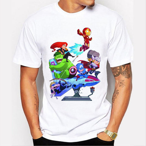 Mini Avengers Assemble T Shirt - DC Marvel World