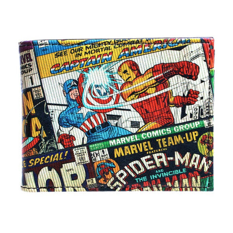 Civil War Bi-Fold Wallet - DC Marvel World