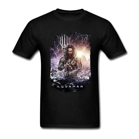 Aquaman Jason Momoa T Shirt - DC Marvel World