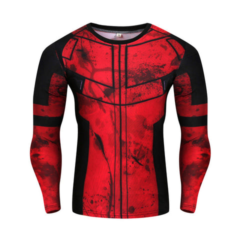 Deadpool Suit Up Long Sleeve T Shirt - DC Marvel World