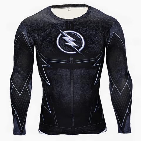 Zoom Compression Long Sleeve T Shirt - DC Marvel World