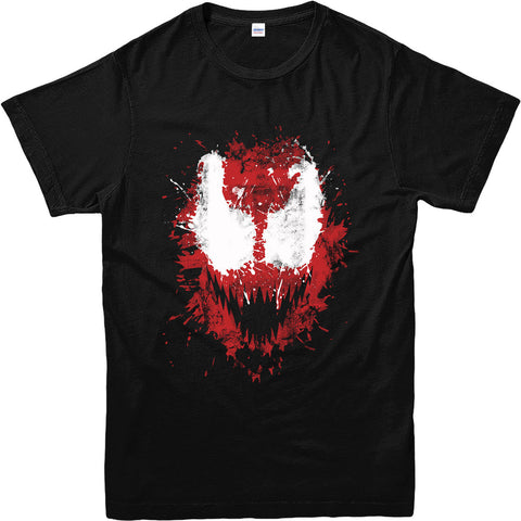 Carnage Face Splat T-Shirt - DC Marvel World