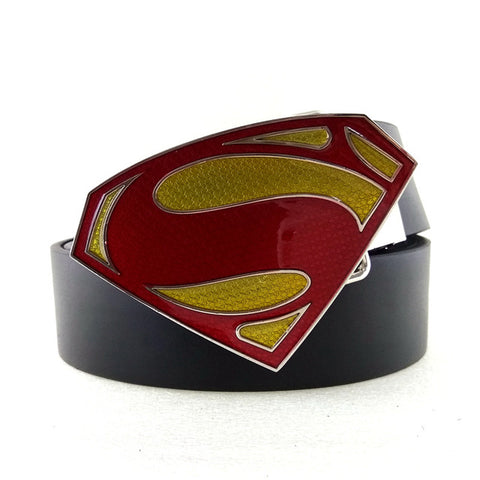 Classic Superman Buckle Belt - DC Marvel World