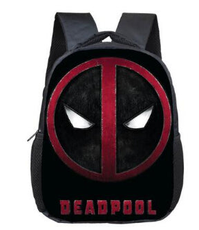 Deadpool Symbol Backpack - DC Marvel World