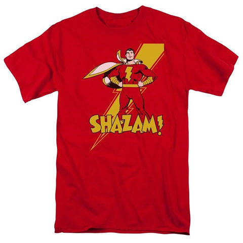 Shazam T Shirt - DC Marvel World