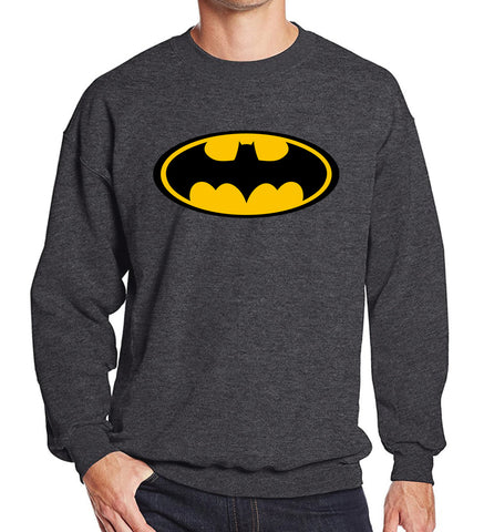 Batman Logo Mens Pullover - DC Marvel World