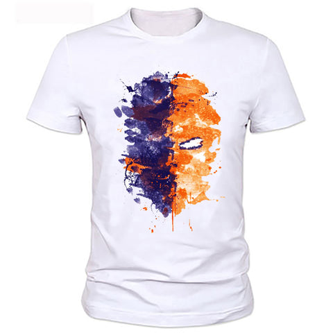 Deathstroke Mask T Shirt - DC Marvel World