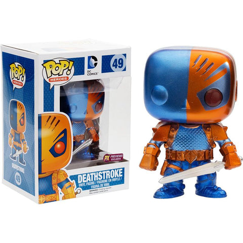 Exclusive Funko Pop Deathstroke - DC Marvel World