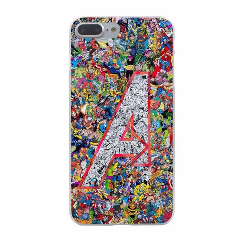 The Avengers Comic iPhone Case - DC Marvel World