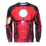 Iron Man Suit Up Pullover - DC Marvel World