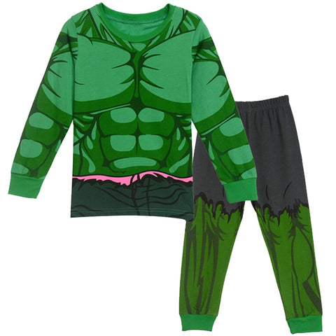 Hulk Kids 2 Piece Pajama Set - DC Marvel World
