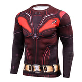 Robin Compression Long Sleeve T Shirt - DC Marvel World