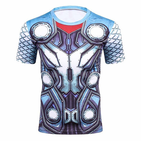 Thor Suit-Up Men's Costume T-Shirt - DC Marvel World