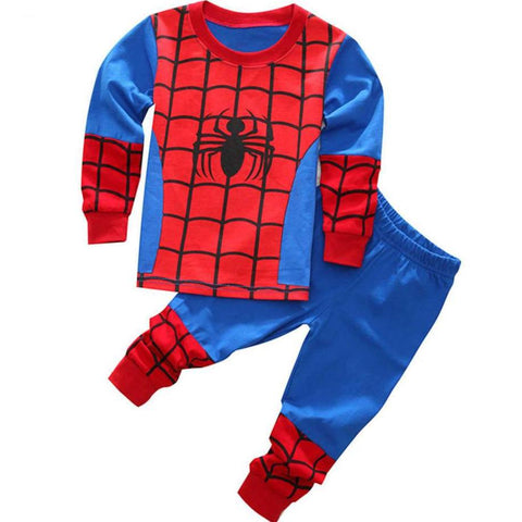 Spiderman Kids 2 Piece Pajama Set - DC Marvel World