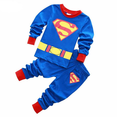 Boys Superman Costume Pajamas - DC Marvel World