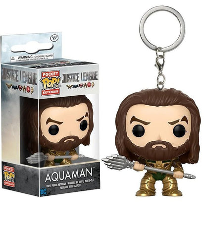 Aquaman Funko Keychain - DC Marvel World