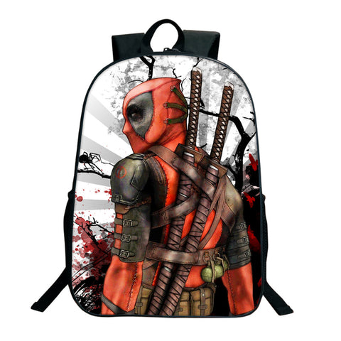 Deadpool Comic Backpack - DC Marvel World