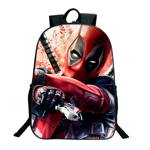 Deadpool Movie Backpack - DC Marvel World
