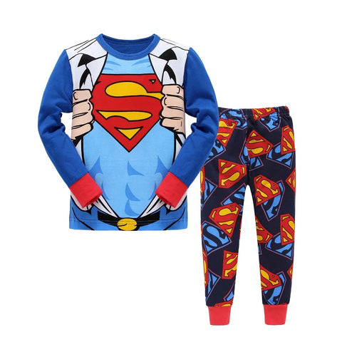 Superman Hero 2 Piece Pajama Set - DC Marvel World