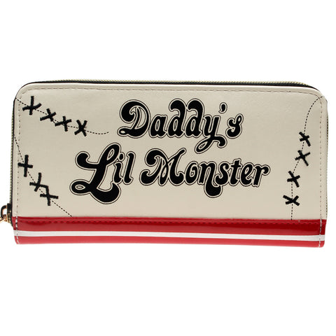 Suicide Squad Harley Quinn Daddys Lil Monster Wallet - DC Marvel World