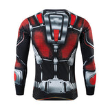 Ant Man Compression Long Sleeve T Shirt - DC Marvel World
