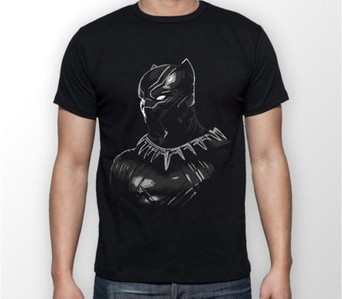 Black Panther Wakanda T Shirt - DC Marvel World