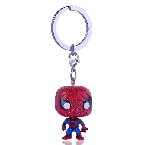 Spiderman Funko Keychain - DC Marvel World
